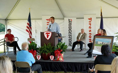 Kentucky Governor Andy Beshear spoke at the groundbreaking for a $51 million expansion of Firestone Industrial Products' Williamsburg, Kentucky, plant. The expansion will add 250 new jobs at the facility as the company responds to growing demand for air suspensions for electric vehicles.