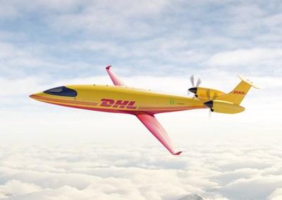 Eviation's all-electric Alice eCargo jet.