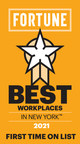 Fortune nominates The Bloc as one of the Best Workplaces in New York 2021