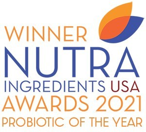 NutraIngredients USA Awards 2021 Probiotic of the Year Logo
