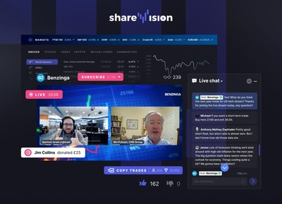 ShareVision launches free restreaming service to all content Creators (PRNewsfoto/ShareVision)
