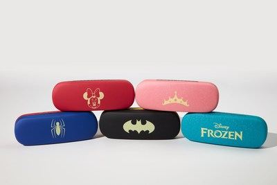 Disney, Marvel and DC Comics Cases at Stanton Optical and My Eyelab