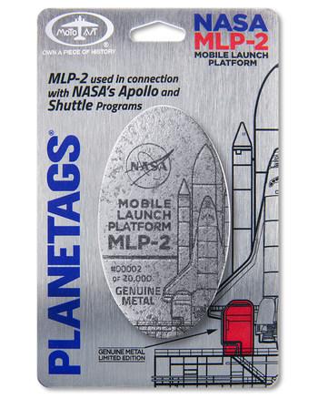 NASA MLP-2 PlaneTag