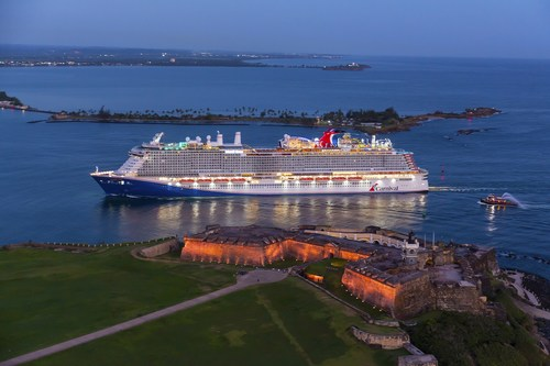 Mardi Gras Makes First-Ever Call To San Juan, Puerto Rico, On Maiden Voyage
