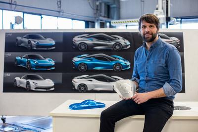 Automobili Pininfarina Head of Design Luca Borgogno