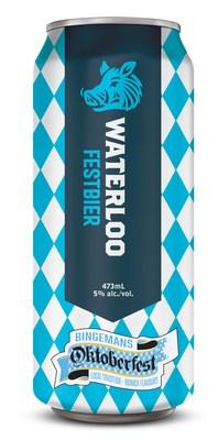 Waterloo Brewing Festbier Can (CNW Group/Waterloo Brewing Ltd.)