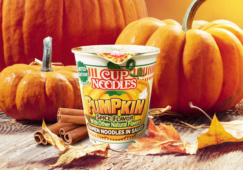 Move Over Lattes, Cup Noodles® Pumpkin Spice Is Joining The Flavor Craze. There's A Hot New Cup On The Block For The More Than 50 Percent Of Pumpkin Spice-obsessed Gen Z.