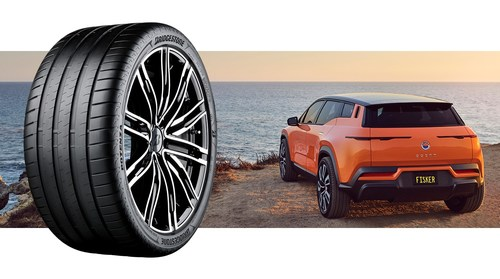 The custom-engineered Bridgestone tires will be available in two tire sizes: 255/50 R20 & 255/45 R22