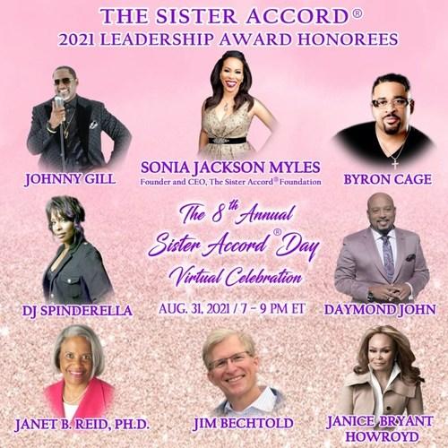 The Sister Accord 2021 Leadership Award Honorees