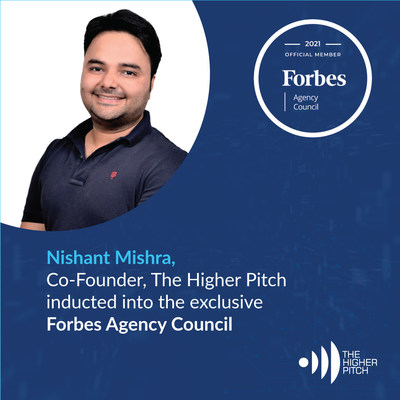 Nishant Mishra, Co-founder, The Higher Pitch