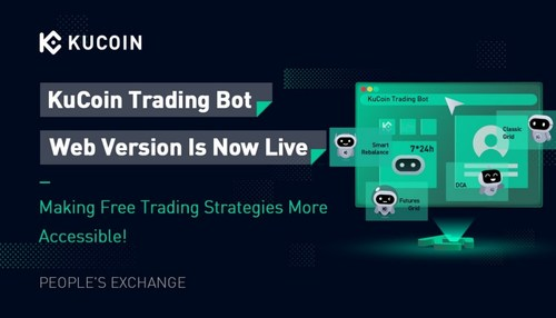 KuCoin Trading Bot web version is now live