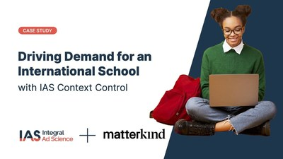 Matterkind Singapore Uses IAS's Context Control to Successfully Drive Demand for an International School