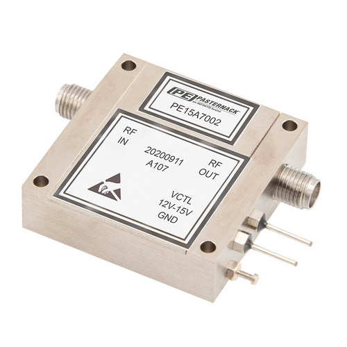 Pasternack Unveils New Mil-Grade Coaxial Packaged Variable Gain Amplifiers