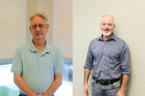 Leading ag-pulp and molded fiber manufacturer Genera has named Alan Turner (left) the company's new controller and Richard Rutherford (right) quality assurance manager.