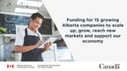 Government of Canada investments enable Alberta companies to expand and reach new markets