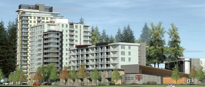 Project rendering of Lelem Village (CNW Group/Canada Mortgage and Housing Corporation)