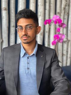 Sahil Shah, 2021 Gorbachev/Shultz, Voices Youth Award Winner