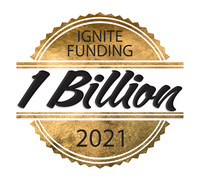 1 Billion Funded as of August 3, 2021