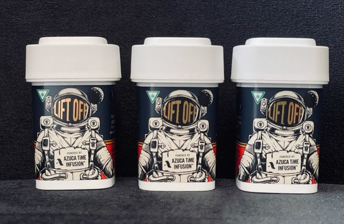 High Life Farms announced today the launch of Lift Off, a new fast-acting, Delta-9-THC-effect dissolvable powder powered by AZUCA TiME INFUSION™, the leading all-natural, fast-acting cannabis edibles ingredient brand.