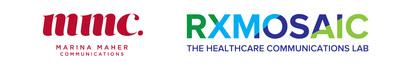 Marina Maher/RXMOSAIC logo (PRNewsfoto/Marina Maher Communications)
