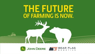 John Deere has acquired Bear Flag Robotics, an agriculture technology startup based in Silicon Valley
