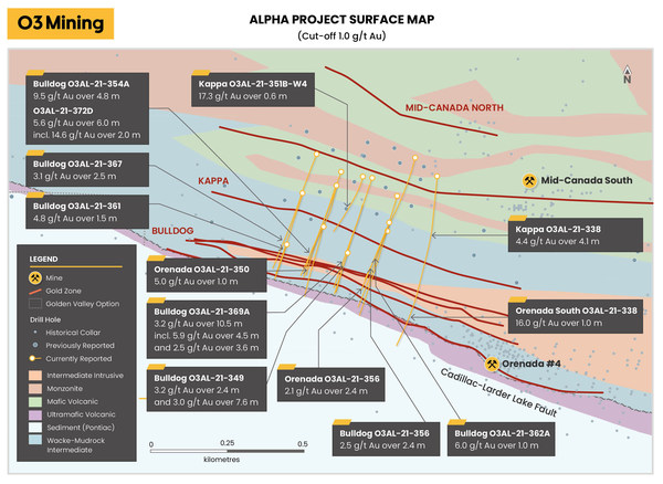 03 Mining Alpha project surface map