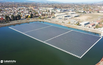 BlueWave Solar announced a joint venture with Laketricity, a company from Ciel & Terre, a pioneer in floatovoltaics, for future projects in Massachusetts. Floatovoltaics, or floating solar arrays, address a global need to produce clean energy in efficient ways that also save common greenfield land.