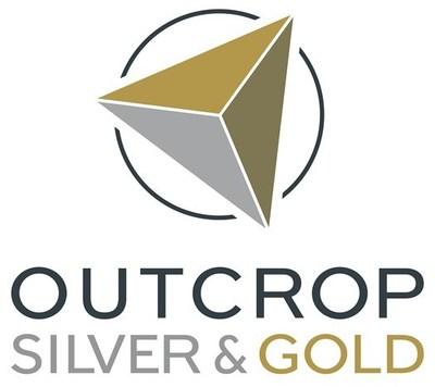 Outcrop Silver & Gold Logo (CNW Group/Outcrop Silver & Gold Corporation)
