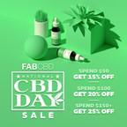 FAB CBD Celebrates Customers and Community on National CBD Day