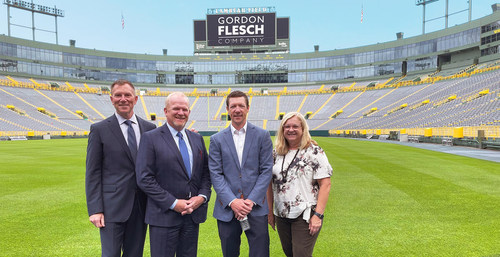 Photo, left to right: Kelly Glaser, Senior Director of Sales, Jerry Davis, Regional Director of Sales and Operations, Patrick Flesch, President and Connie Dettman, Director of Marketing