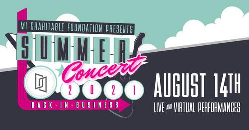 MI Charitable Foundation's seventh annual Summer Concert