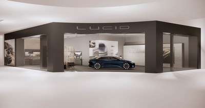 Lucid announced the opening of its newest retail location – the Lucid Studio at Scottsdale Fashion Square – on Saturday, August 7. This location, the ninth in a growing network of Lucid Studios, is the first in Arizona and sits just 50 miles from the company's Advanced Manufacturing Plant (AMP-1) in Casa Grande.