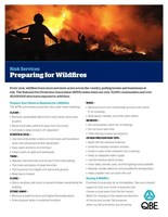 QBE and Westwood Insurance Agency Outline Wildfire Safety Strategies  to Protect Property and Mitigate Losses