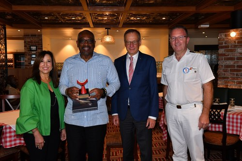 MARDI GRAS MAKES FIRST-EVER CALL AT NASSAU, BAHAMAS, ON MAIDEN VOYAGE
