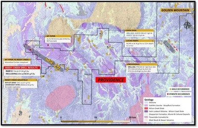 Figure 2 – Providence Project Overview Map (CNW Group/Fosterville South Exploration Ltd.)