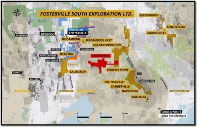 Figure 3 – Fosterville South Overview Map (CNW Group/Fosterville South Exploration Ltd.)
