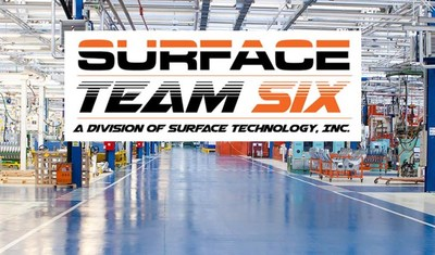 Surface Team Six, Rapid Response Team of Industrial Flooring Professionals, Serving Facilities Throughout the U.S. and Canada.