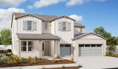 Richmond American's Dillon II floor plan is modeled at Sutton at Parklane in Dixon, CA.