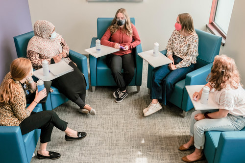 Group therapy sessions are one aspect the partial hospital program at Children's Minnesota.