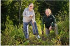 Planting in Forillon National Park as Part of Canada's Two Billion Trees Commitment