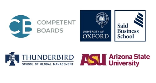 Top Schools Partner with Competent Boards to Educate Directors on Climate Issues Ahead of COP26 (CNW Group/Competent Boards)