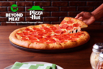 Pizza Hut expands partnership with Beyond Meat® to test new plant-based Beyond Pepperoni™ pizza in select U.S. markets