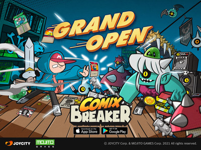 Time attack card RPG, Comix Breaker Grand OPEN