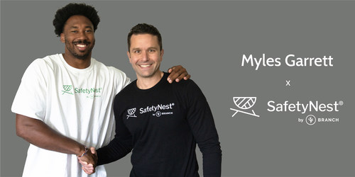 Myles Garrett Teams Up With SafetyNest by Branch Insurance to Tackle Uninsurance