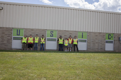 Underground Utility Locating Students at the Hinds Career Center