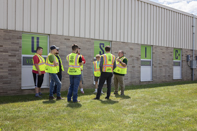 Field instruction is an important element of underground utility locating training.