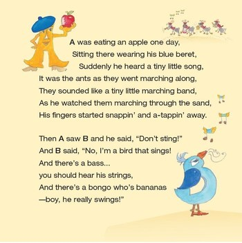 A Glimpse of some of the Magical Lyrics and Characters along Alphabet Lane