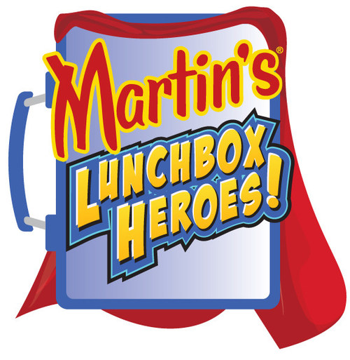 """The Lunchbox Heroes campaign states that from now until September 18, 2021 people aged 18 years and older can nominate a child's """"Lunchbox Hero"""" — someone who has made an important and positive impact on their life — at MyLunchboxHero.com.  For each nomination received, Martin's® will donate $5 to Blessings in a Backpack (up to a $20,000 donation in total) to help fight child hunger."""