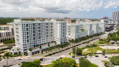 Life Time opens a first-of-its-kind developed in Coral Gables, Fla on Aug. 10, 2021, centered around the Company's iconic athletic resort with premium coworking and luxury residences. The 1.2 million-square-foot, more than $550 million project, was developed with Nolan Reynolds International and 54 Madison Partners.