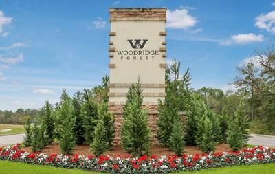 Monument at Woodridge Forest in Porter, TX | Century Communities